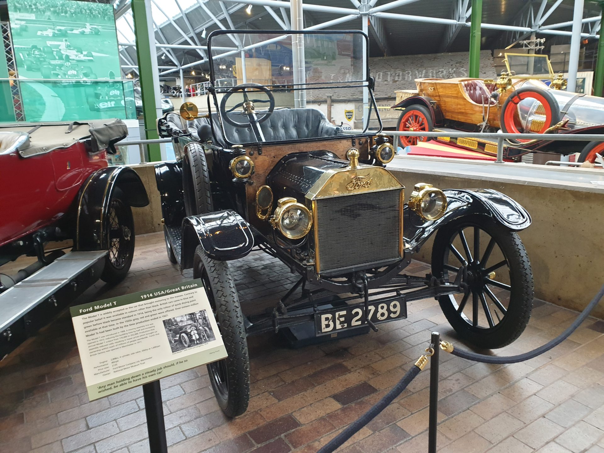 The Ford Model T, and other lessons from the motor vehicle industry