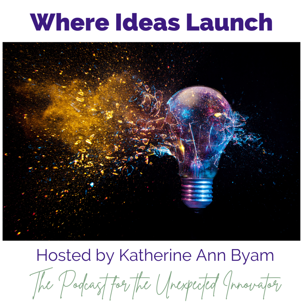Where Ideas Launch - The exploding light bulb out in space signifying the spread and viral nature of new ideas.