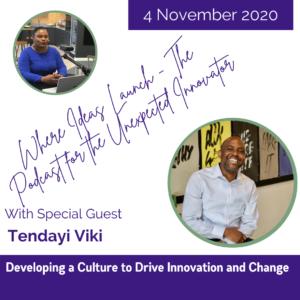 Developing a culture for change with Tendayi Viki on Where Ideas Launch