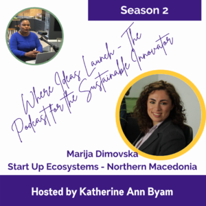 Start Up Ecosystems with Marija Dimovska on Where Ideas Launch